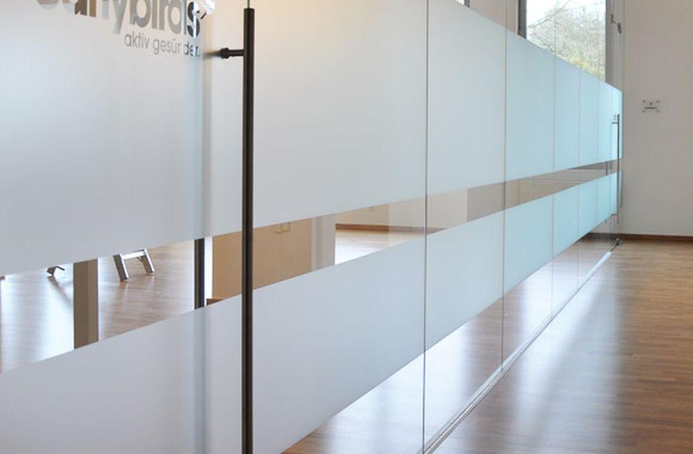 trennwand glas simple glas trennwand mit tr with. Black Bedroom Furniture Sets. Home Design Ideas